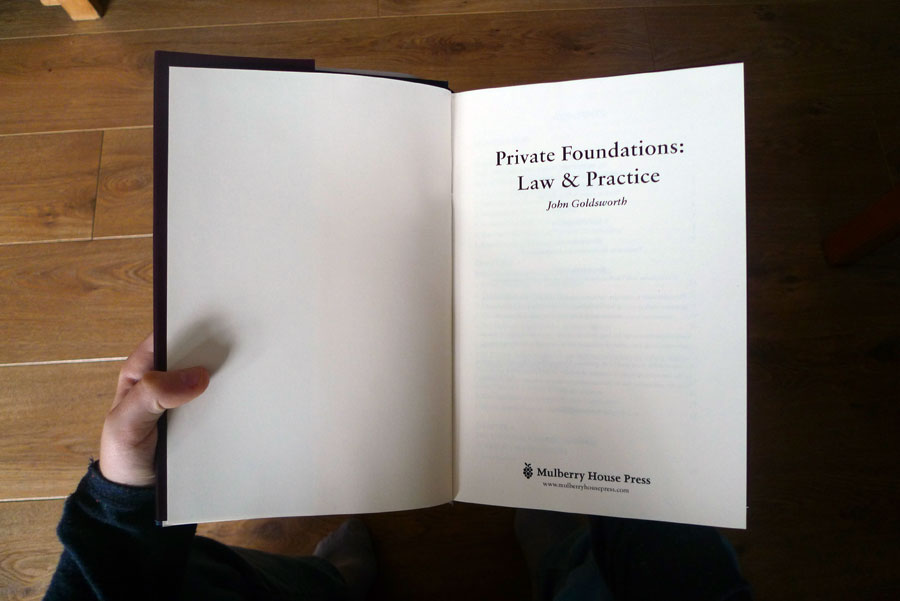 Mulberry House Press - Foundation book