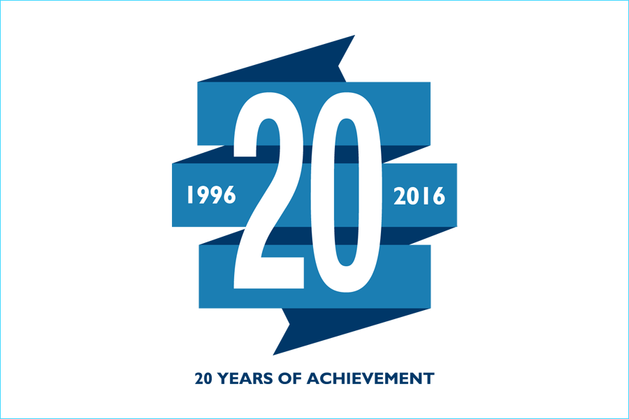 World Water Council - 20th Anniversary Identity