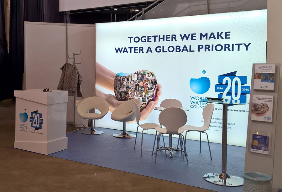 World Water Council - Exhibition Stand,Budapest